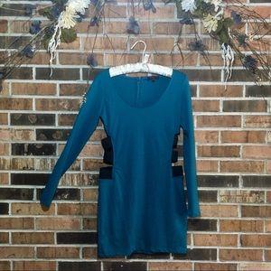 Form-fitting Mini Dress M Cutout Bodycon RAMPAGE